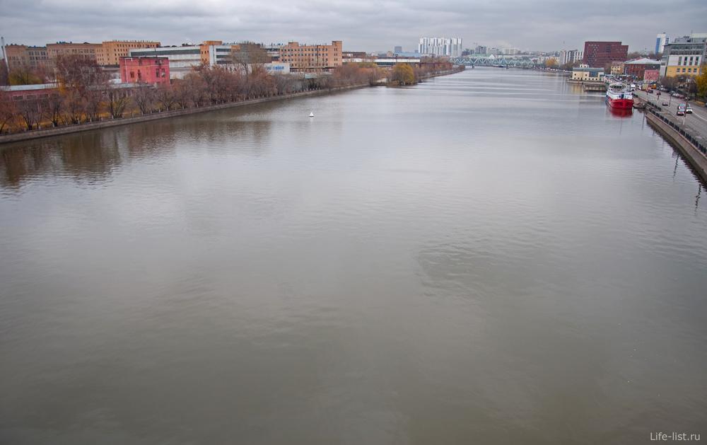 Фото Москвы Москва река