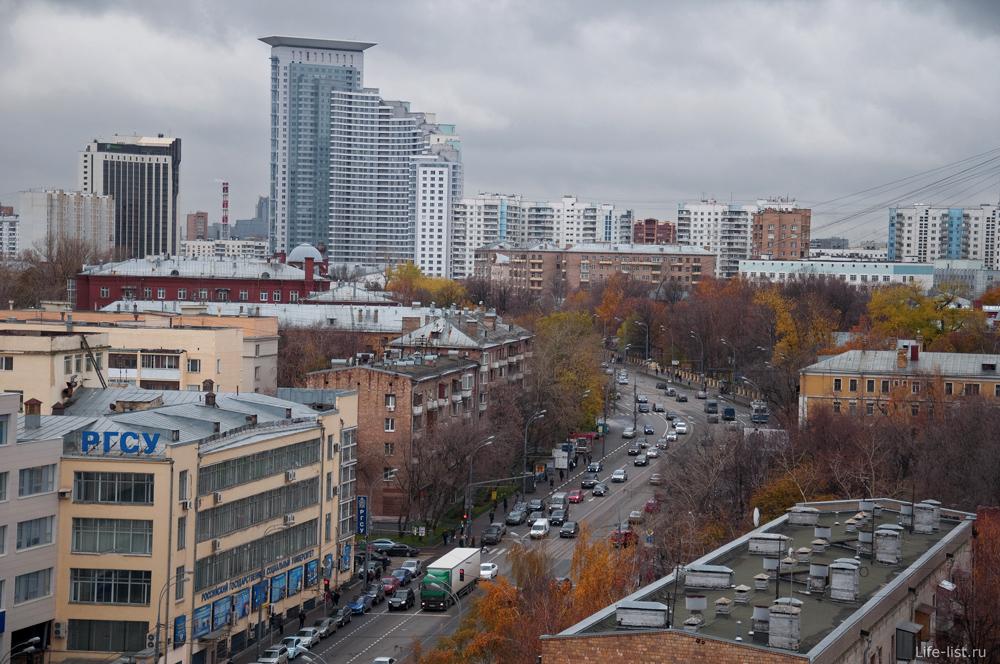 Фото Москвы Вид на ул. Стромынка. Район Сокольники
