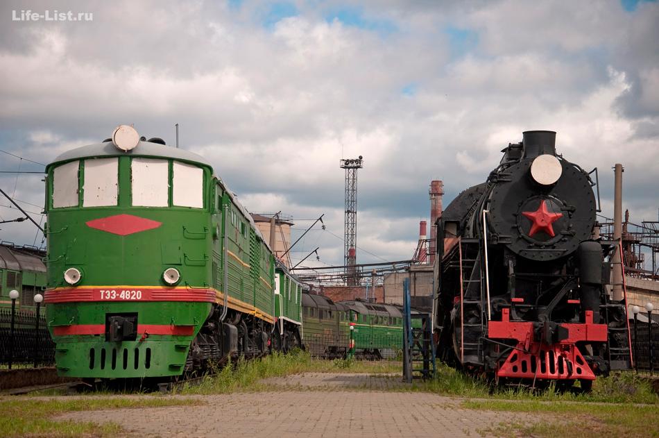 музей вагонов в Екатеринбурге