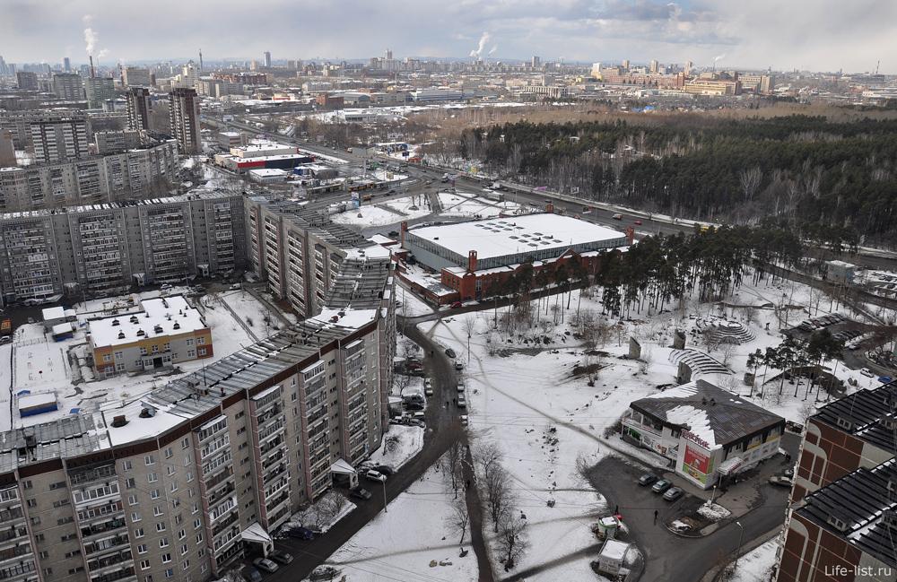 КОСК амфитеатр МЖК Екатеринбург