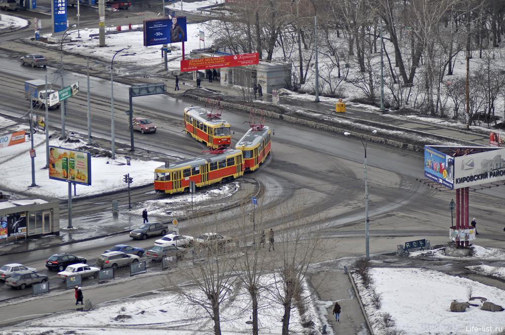 Пересечение улиц Высоцкого и Сыромолотова Екатеринбург