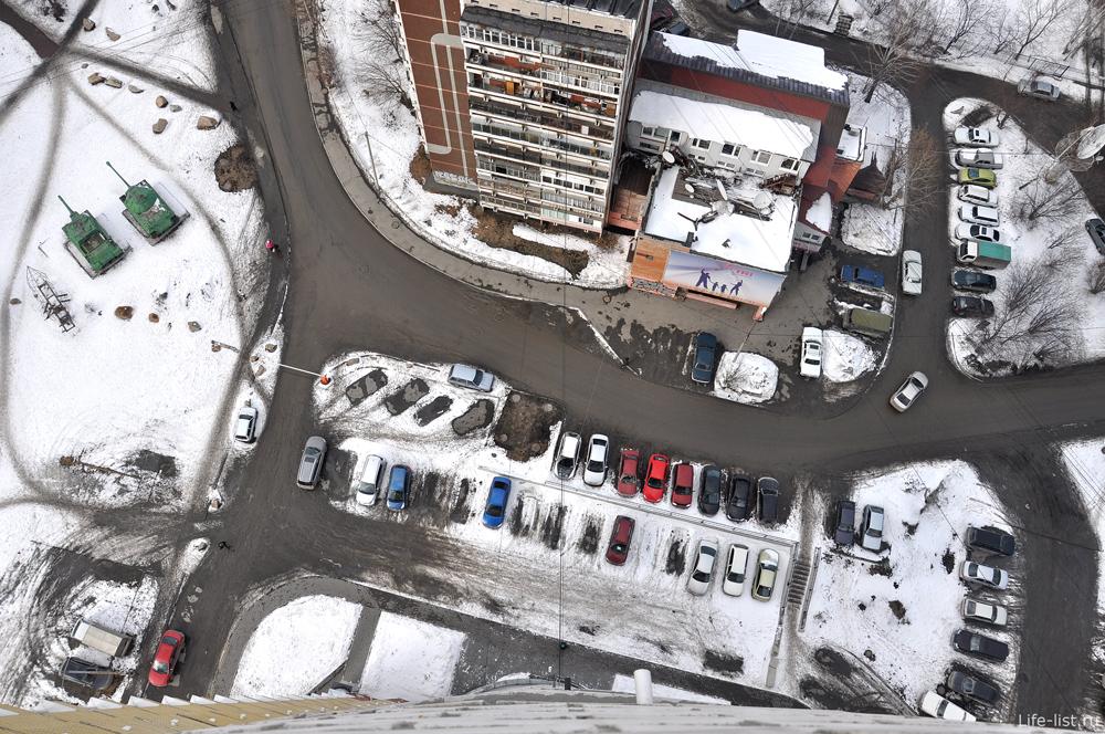 Вид с высоты Екатеринбург МЖК