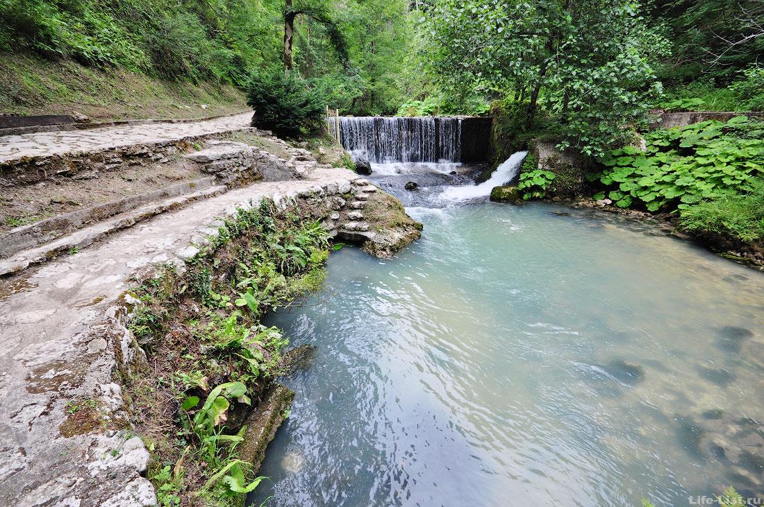 Туристический маршрут Кананита Псырцха Новый Афон Абхазия фото лето