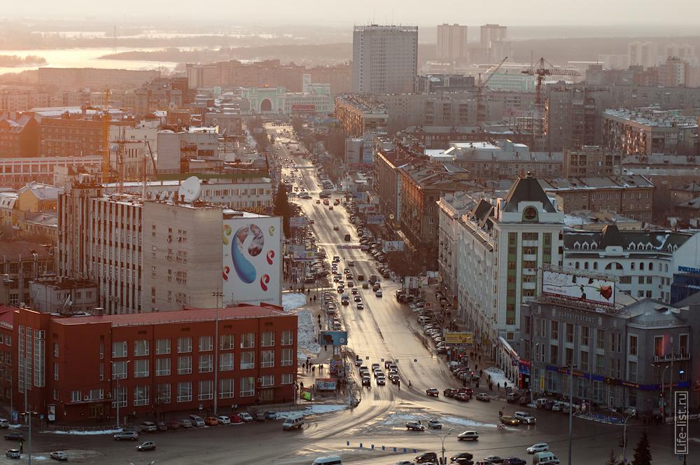 Фотографии Новосибирска с высоты центр фото Виталий Караван