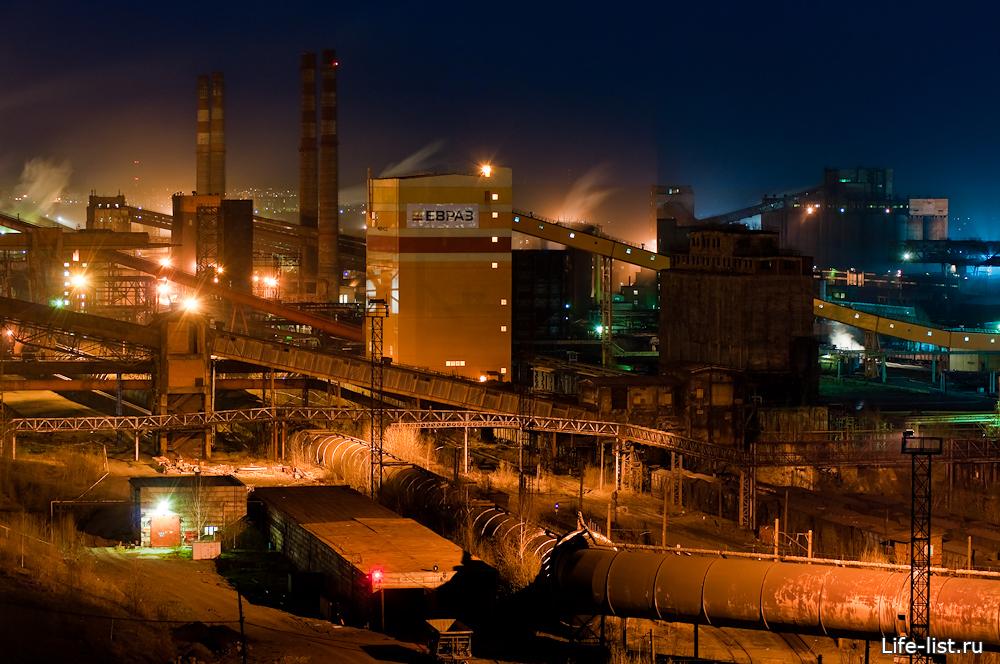 нижнетагильский металлургический комбинат фотографии фотографии завода ночью