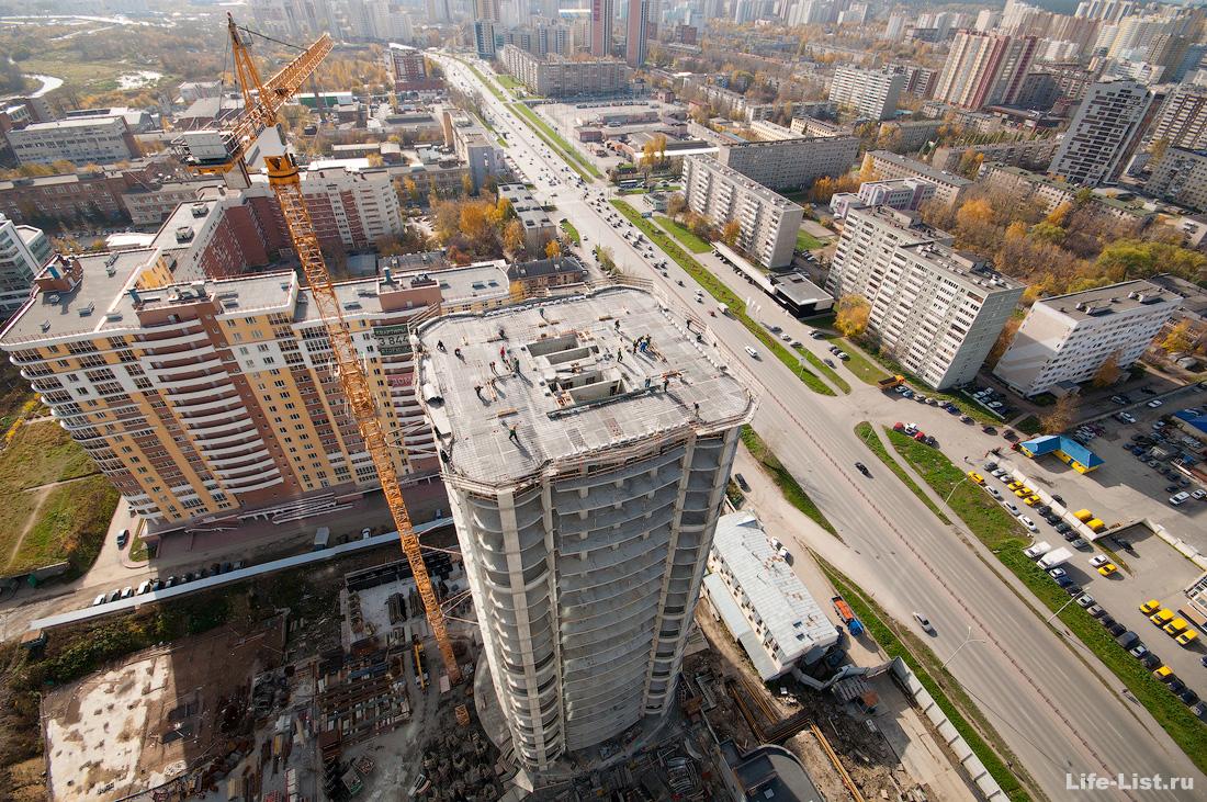 стройка комплекса Олимпийский в Екатеринбурге photo Vitaly Karavan