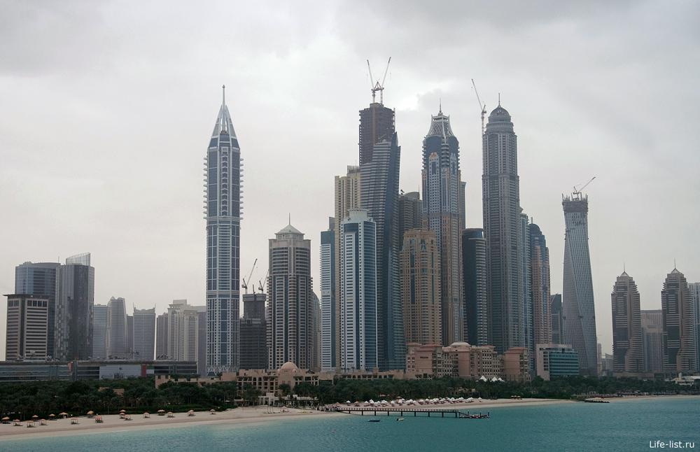 Монорельсовый поезд Дубай