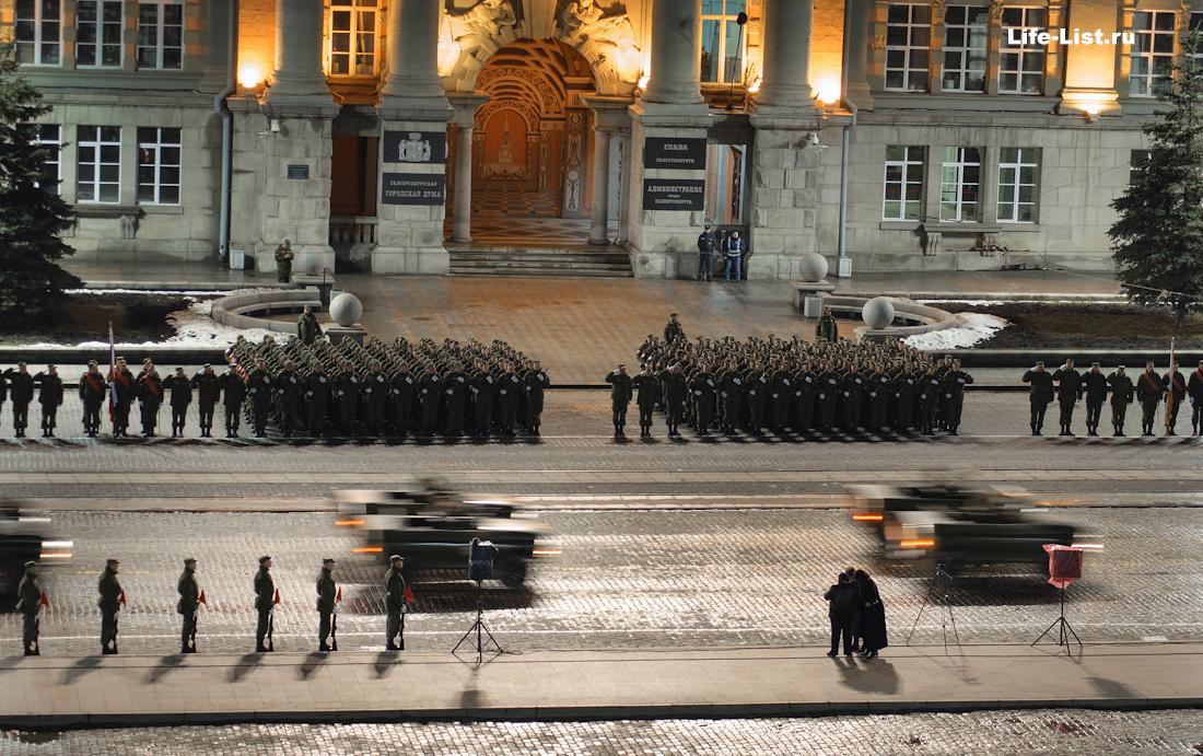 Виталий Караван заснял репетицию военного парада с высоты Екатеринбург