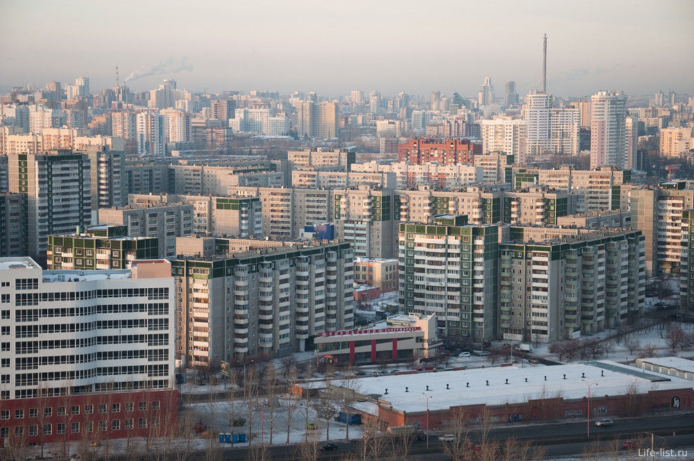 микрорайон Ботаника Екатеринбург
