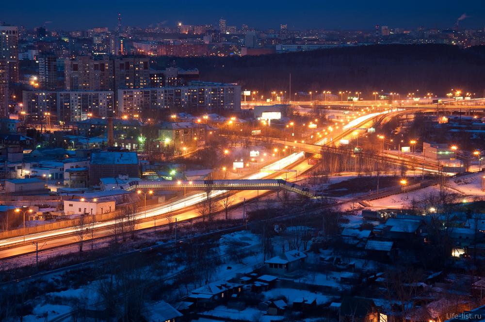 Объездная дорога. Екатеринбург