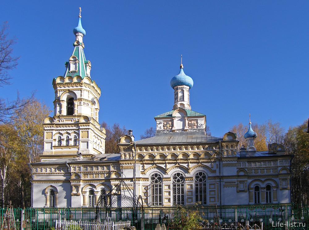 Церковь в Перми на егошихинском кладбище