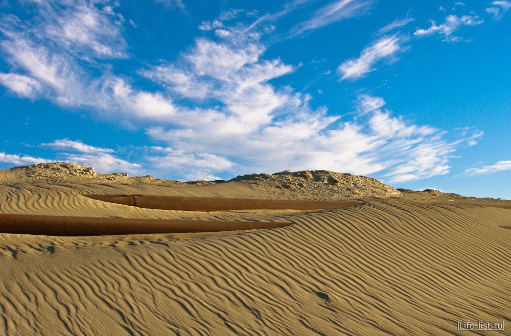 песочные барханы березовские пески