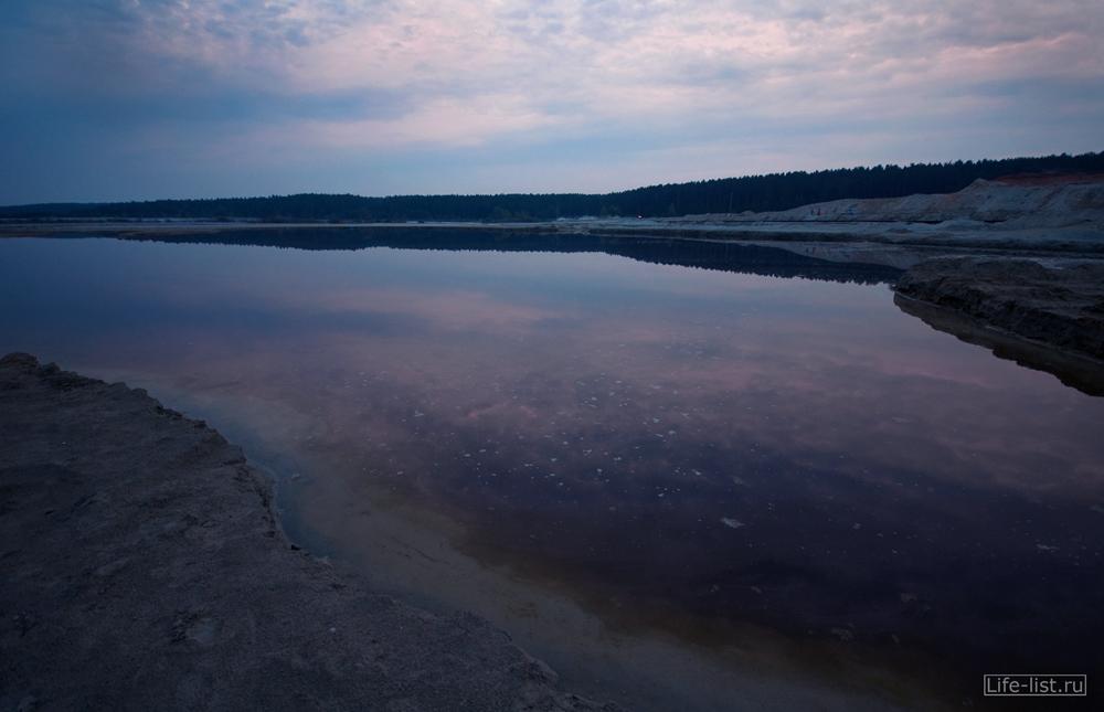 озеро на березовских песках