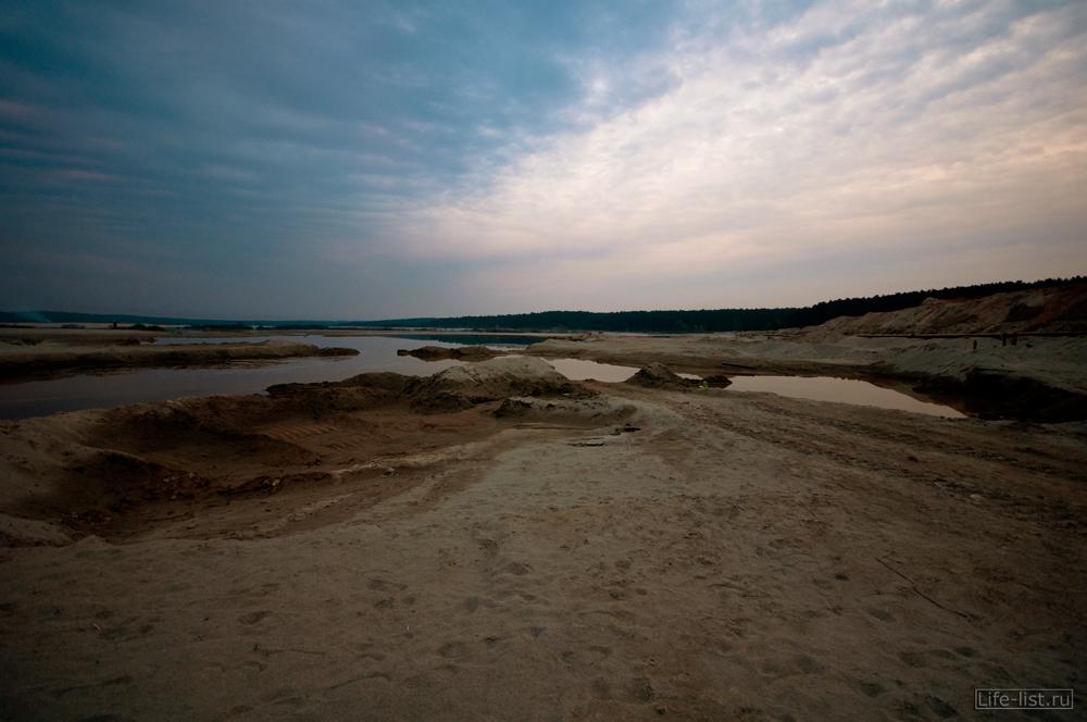 пейзаж березовские пески