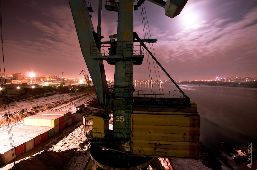 портовый кран Новосибирск
