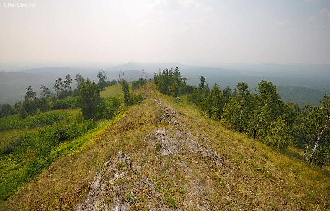 Потанины горы Южный Урал Челябинская область
