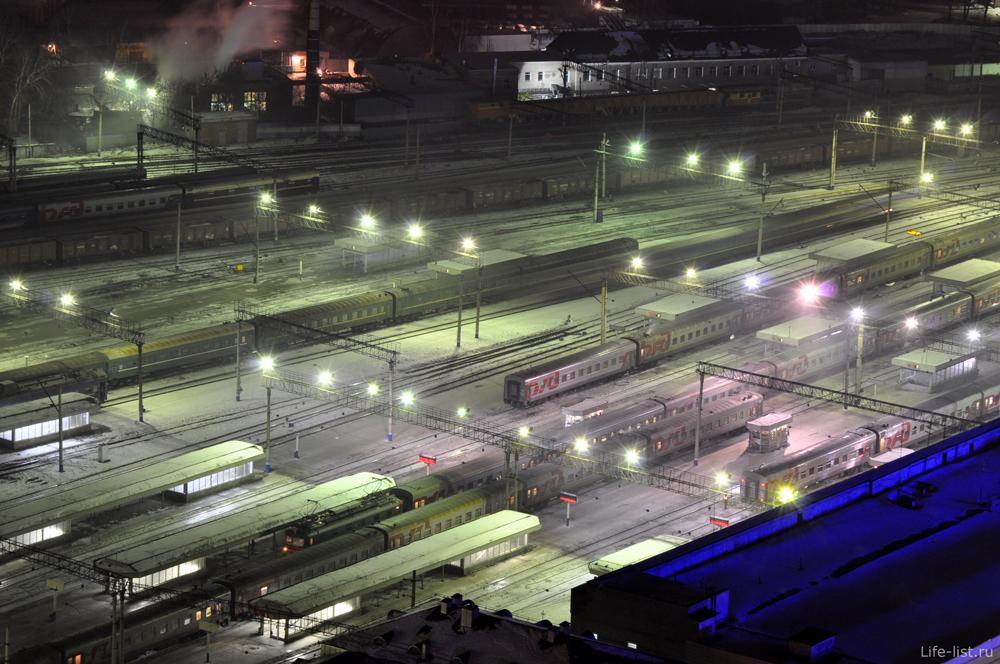 Екатеринбург Платформы станции Екатеринбург-Пассажирский