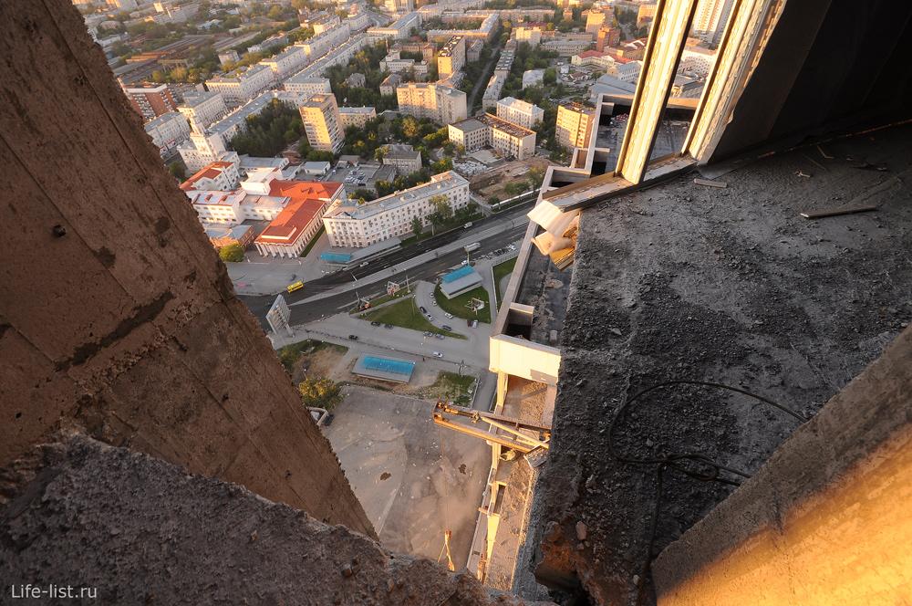 Строительство небоскреба Призма Екатеринбург