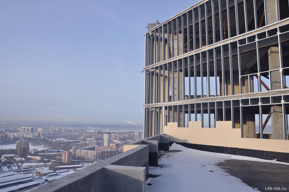 Стройка Высотки Екатеринбург