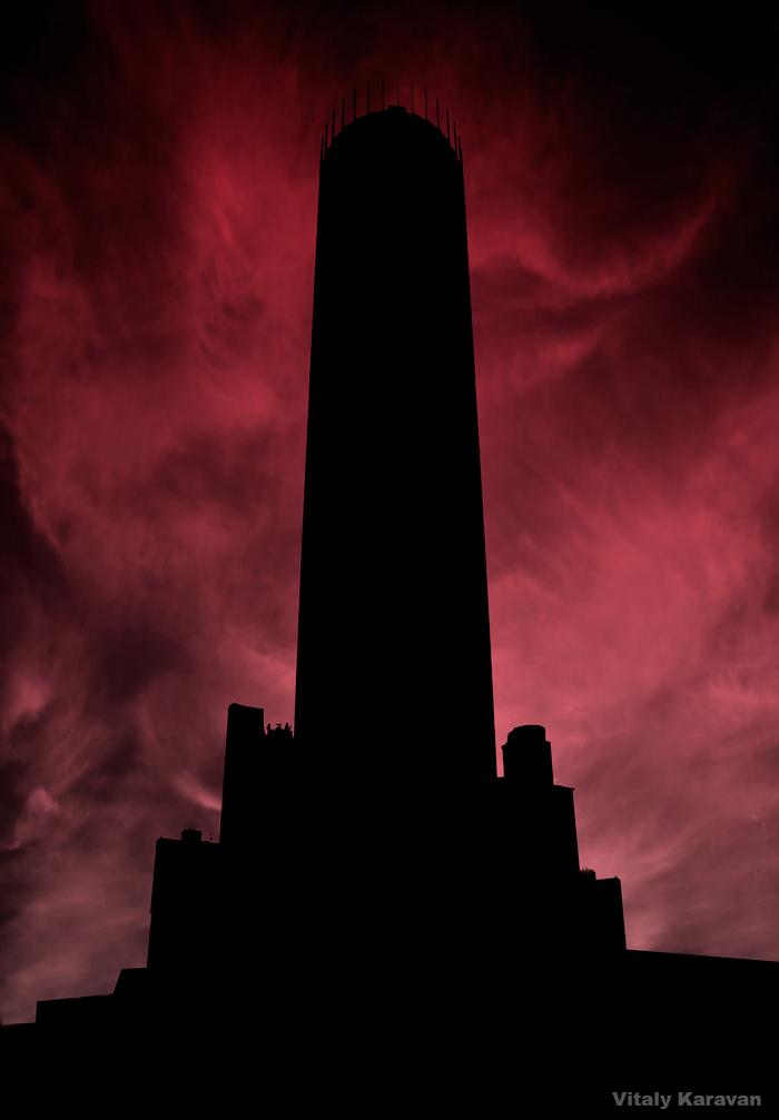 Екатеринбург Башня Исеть 2015 год Iset Tower Фотограф Виталий Караван