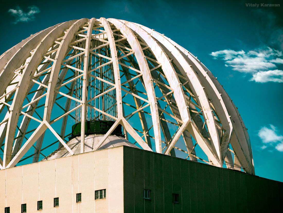купол цирка Екатеринбург фото Виталий Караван