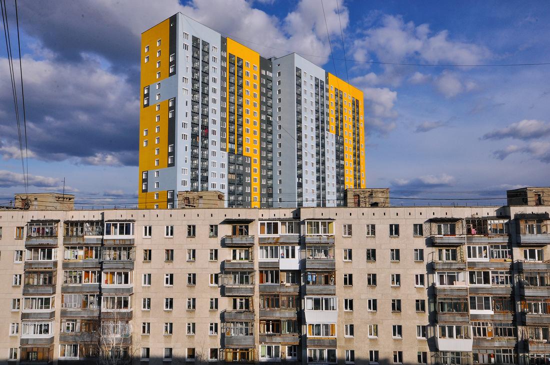 Екатеринбург дом на улице Индустрии