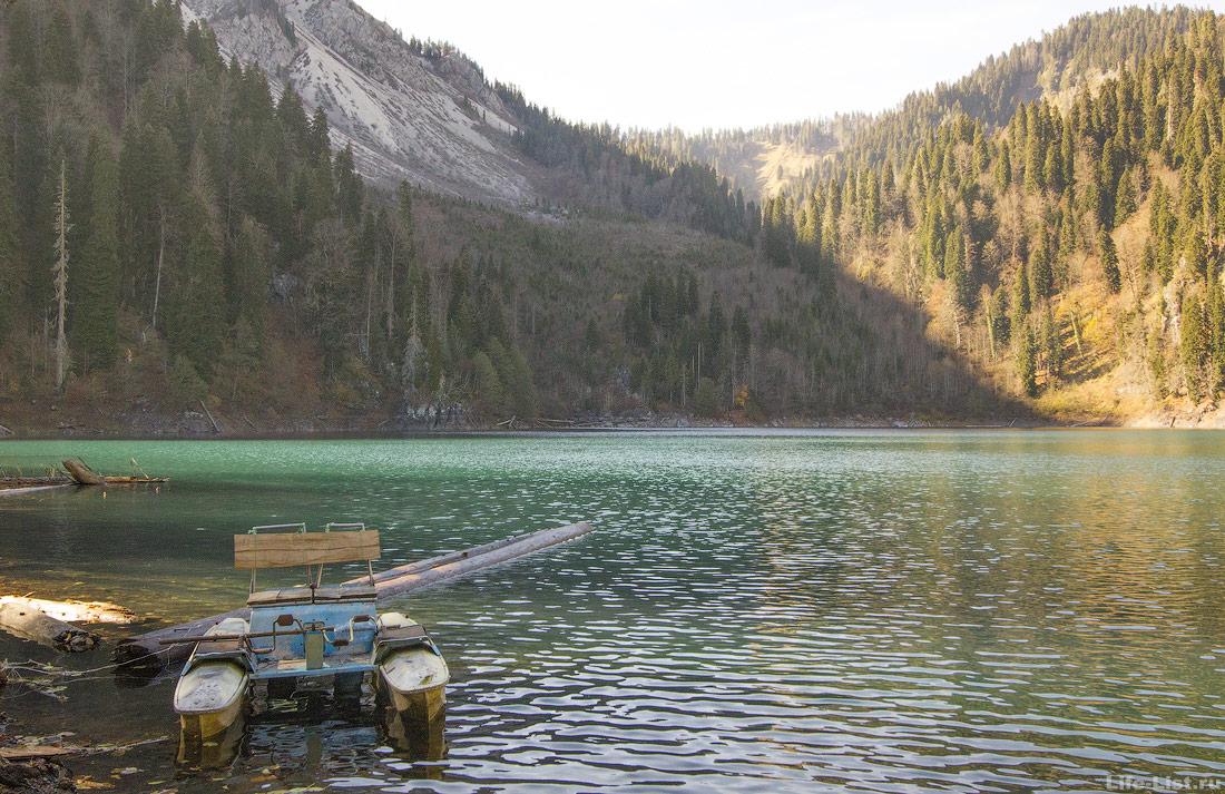 фото озеро малая Рица Абхазия гора Пшегишхва