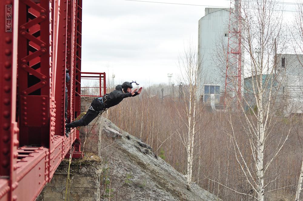 роупджампинг с моста Екатеринбург фото Виталий Караван