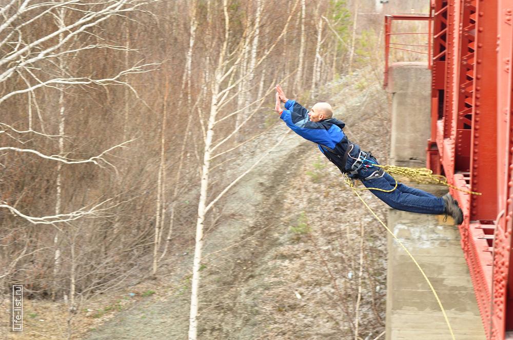 ropejump прыжки мост жд