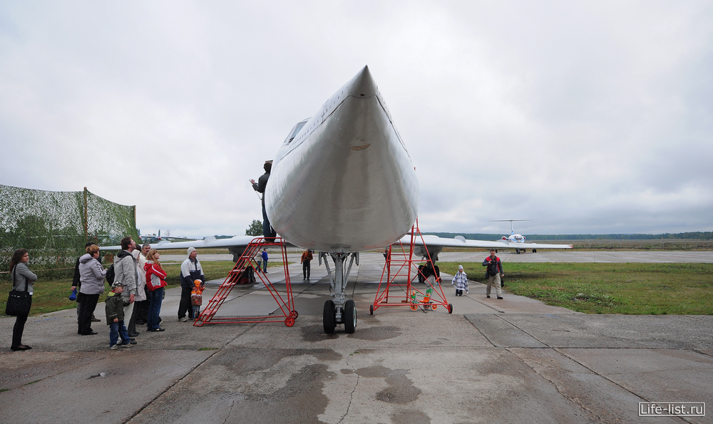 ту-134 уб тренажер самолет фото
