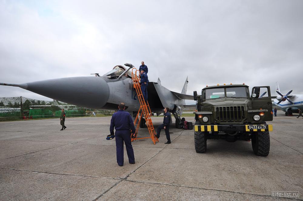 МИГ-21 фото самолета в кольцово