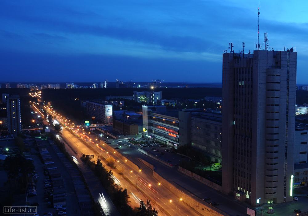Екатеринбург Серафимы Дерябиной и Бардина перекресток