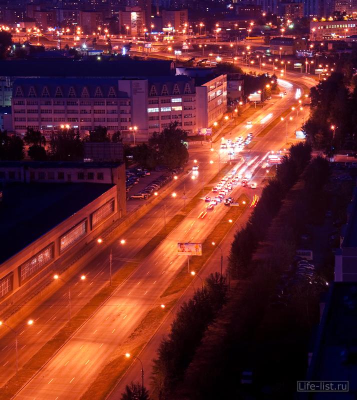 Екатеринбург красивые фото ул Серафимы Дерябиной с высоты здание НПО Автоматика