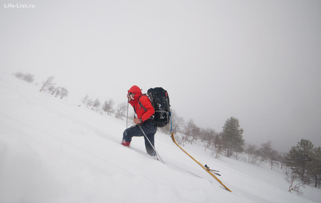 лыжный поход на Конжак Северный Урал