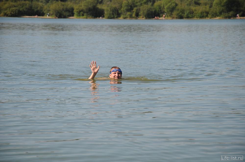 переплыл озеро шарташ