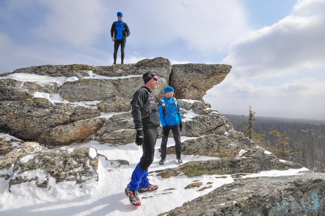 на вершине горы Шунут Краснояр