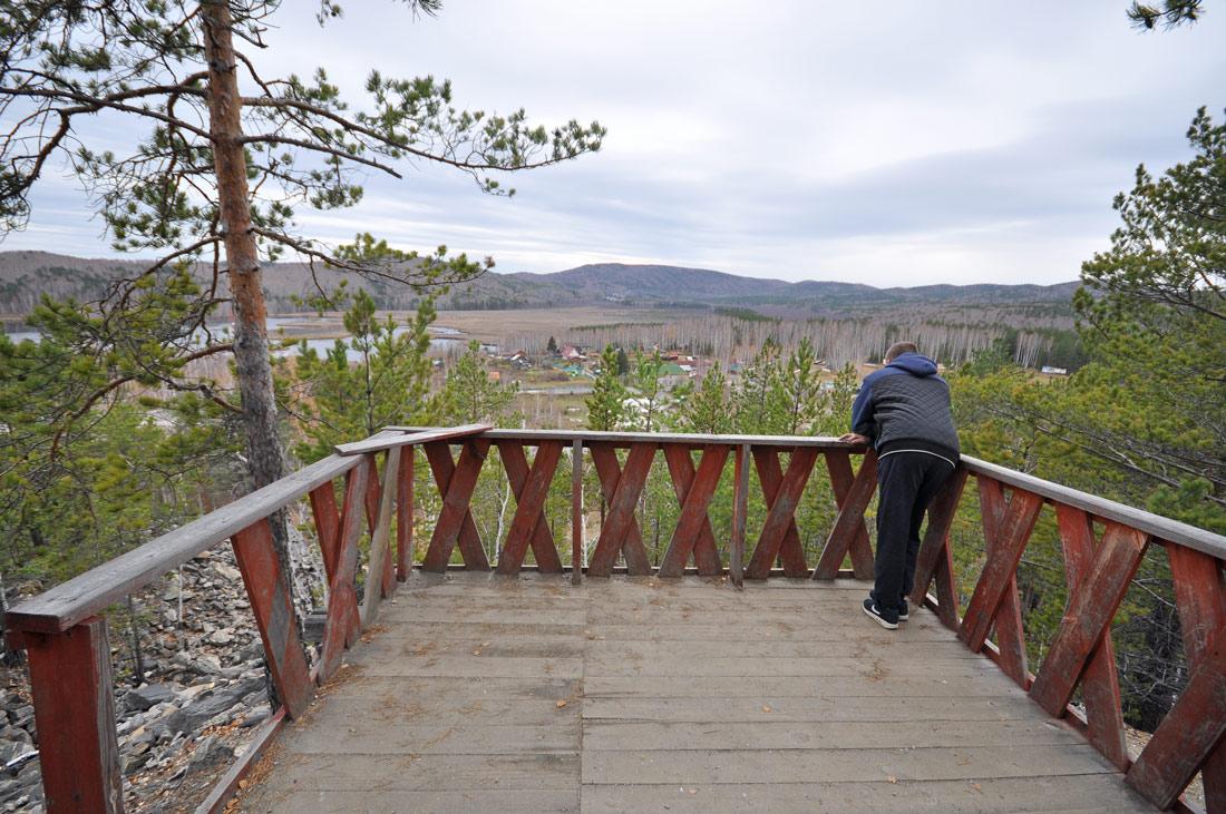 смотровая площадка на горе Слюдянка