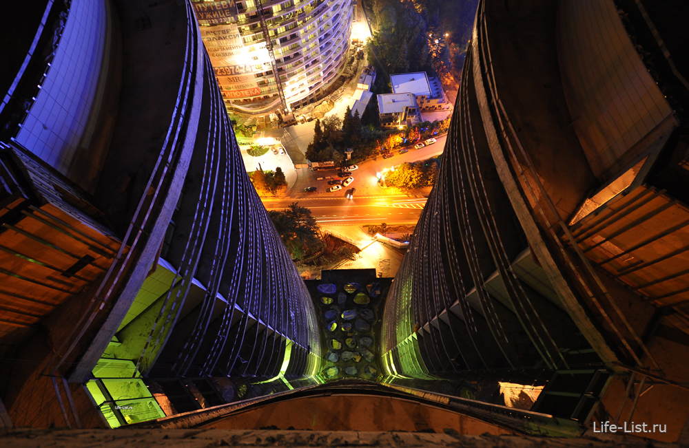 ЖК Сан сити вечерний сочи фото с высоты Виталий Караван