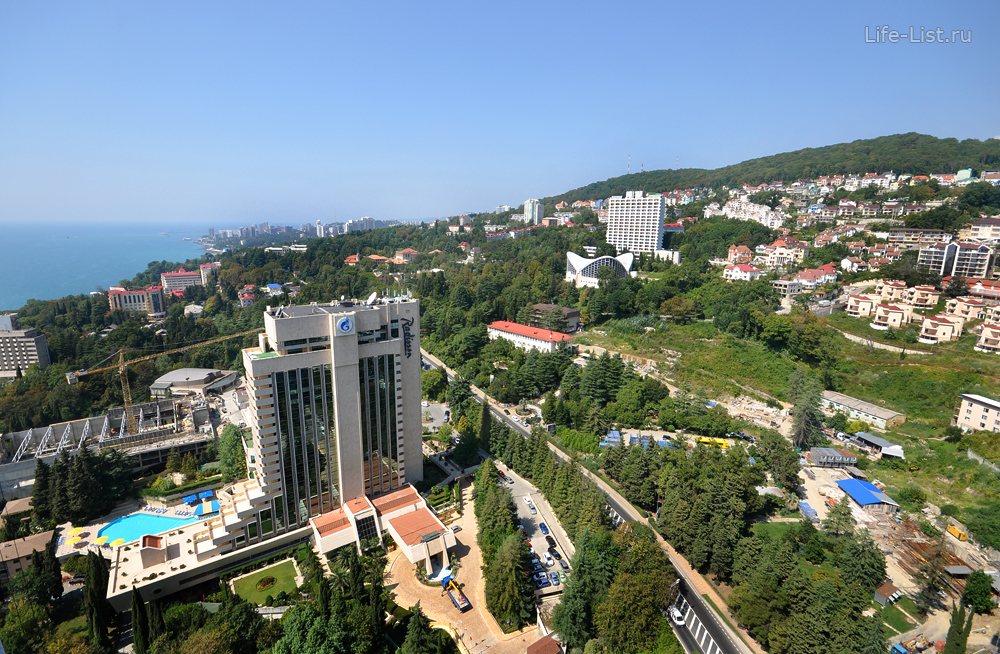 Отель Рэдисон Лазурный на Курортном проспекте