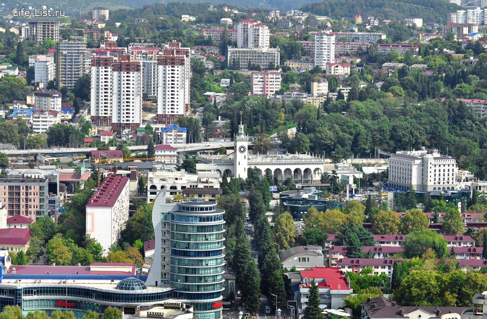жд вокзал с высоты сочи фото Виталий Караван
