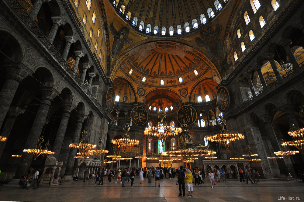 Собор святой Софии в Константинополе Стамбул