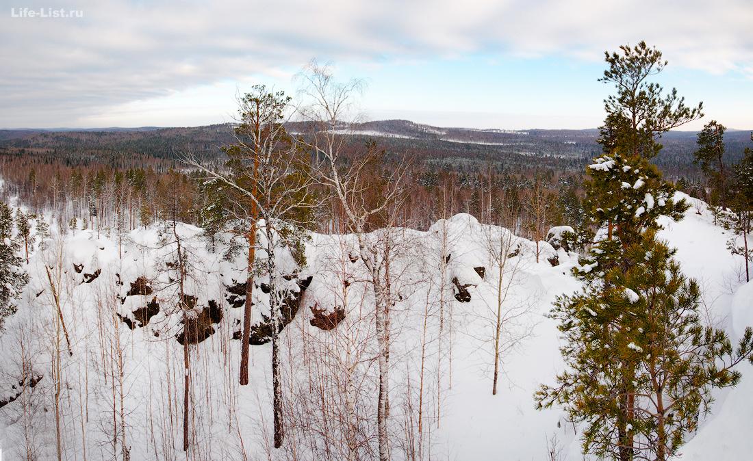 поход на скалы Соколий камень  Урал фото Виталий Караван