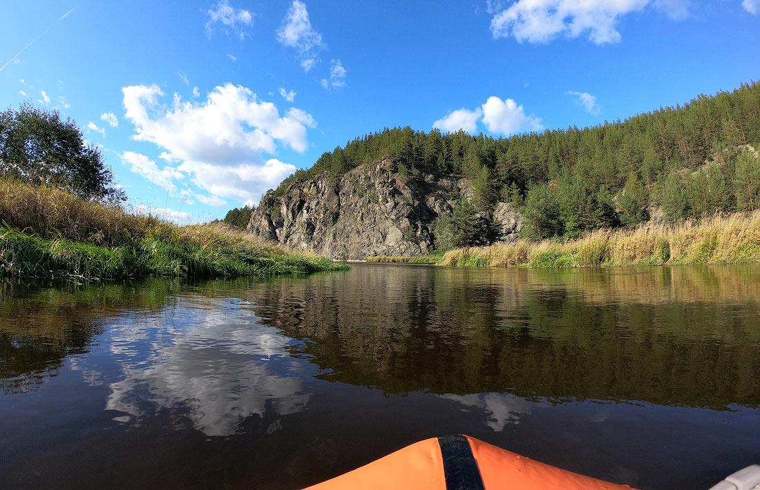 сплав по реке Реж на пакрафте black pike classic