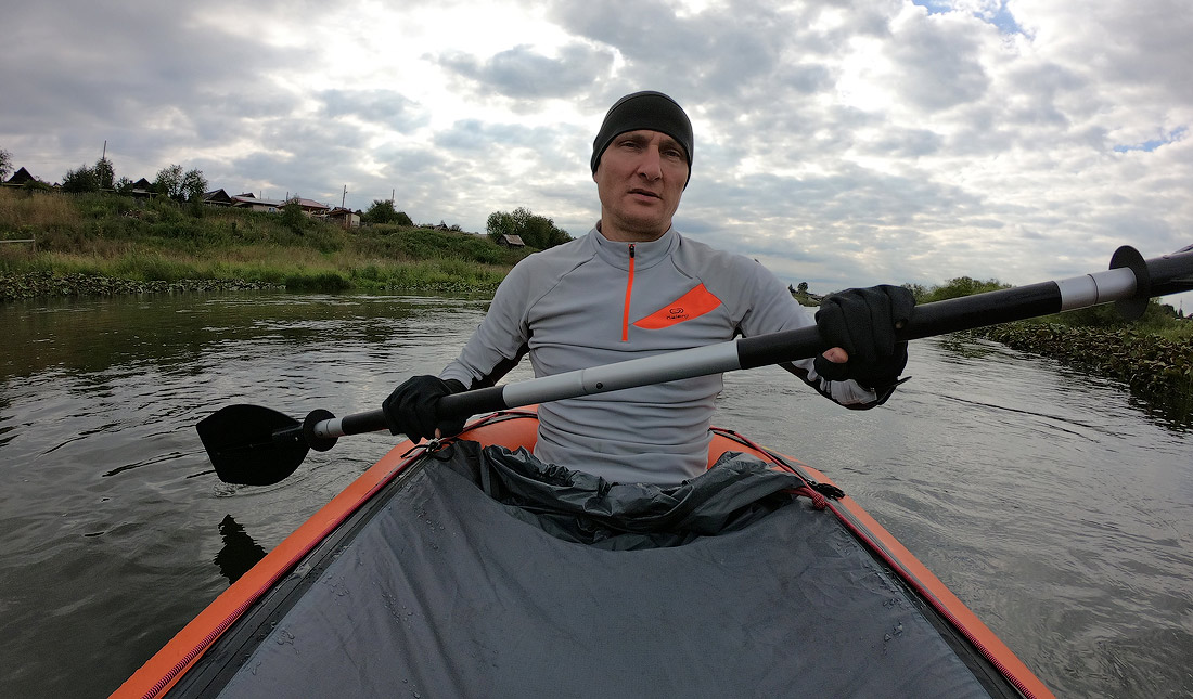 сплав по реке Чусовая на пакрафте black pike classic