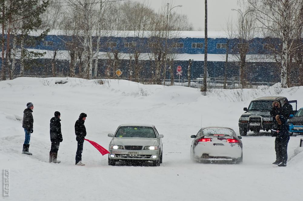 на старте фото зимний спринт Березовский