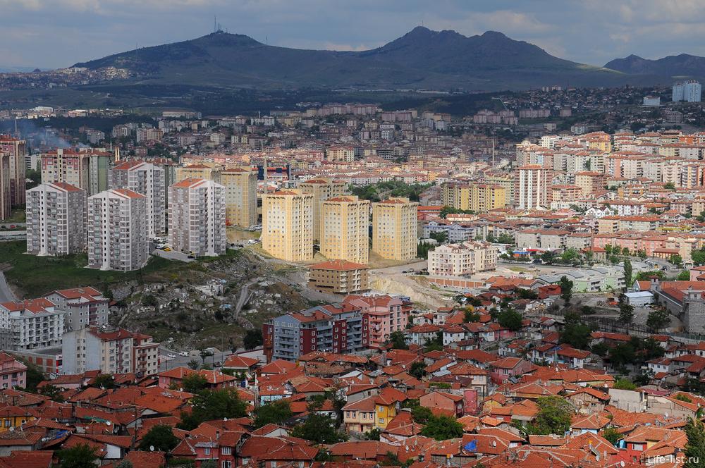 Анкара с высоты