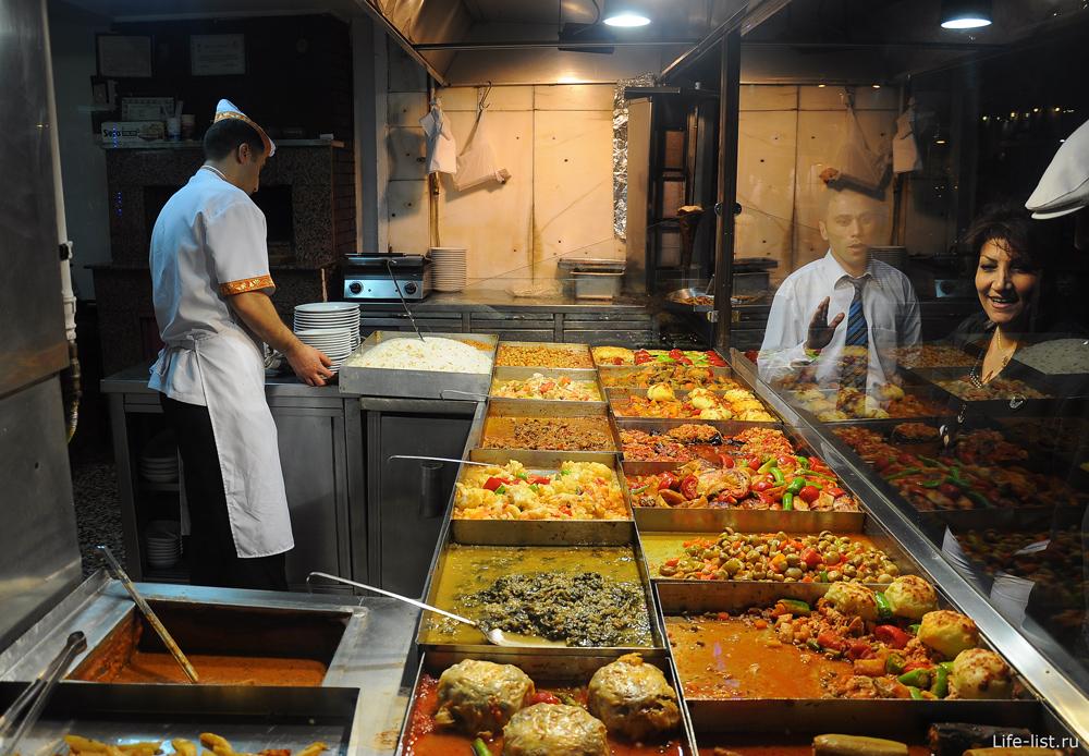 Ресторан в Стамбуле