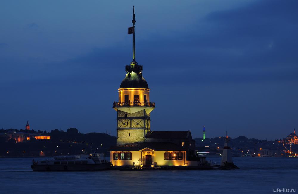 Девичья башня в Босфоре