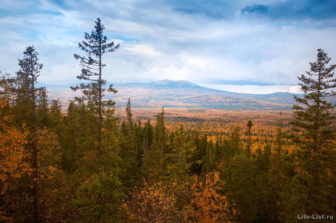 Вид со скал Смотритель Таганая Южный Урал Красивые фото Таганай