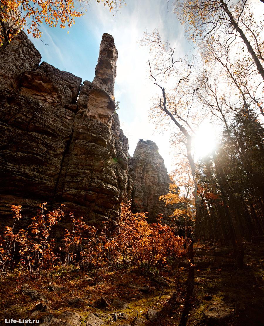 Скалы Три Брата Южный Урал Красивые фото Таганай